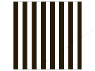 die cuts: Canvas Corp 12 x 12 in. Paper Black & White Big Stripe (15 sheets)