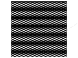 Canvas Corp 12 x 12 in. Paper Black & White Mini Dot Reverse