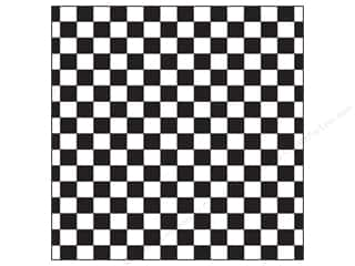 Canvas Corp 12 x 12 in. Paper Black & White Big Check