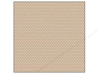 Canvas Corp 12 x 12 in. Paper Tan & Ivory Mini Dot Reverse