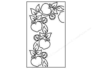 Quilt Stencil  Borders: Quilting Creations Stencil Apple Orchard Border 4 in.