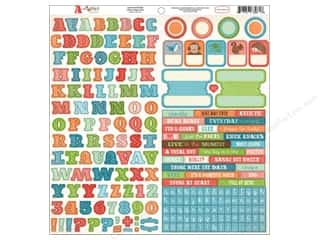 stickers: Carta Bella Alphabet Stickers Alphabet Junction (15 sets)