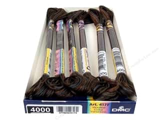 DMC Floss: DMC Color Variations Floss 8.7 yd. #4000 Espresso (6 skeins)