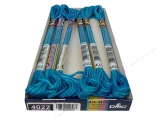 yarn & needlework: DMC Color Variations Floss 8.7 yd. #4022 Mediterranean Sea (6 skeins)