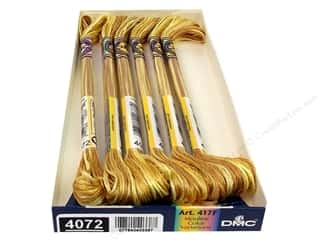 DMC Color Variations Floss 8.7 yd. #4072 Toasted Almond (6 skeins)