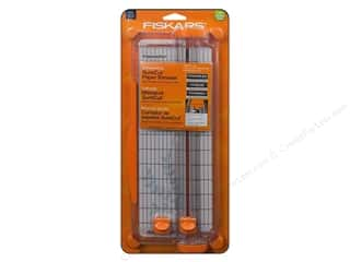 paper trimmer: Fiskars SureCut Scrapbooking Paper Trimmer 12 in.