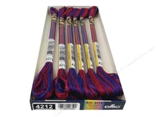 yarn & needlework: DMC Color Variations Floss 8.7 yd. #4212 Mixed Berries (6 skeins)
