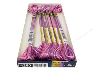 yarn & needlework: DMC Color Variations Floss 8.7 yd. #4260 Enchanted (6 skeins)