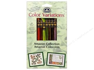 yarn & needlework: DMC Color Variations Floss Pack 8 pc. Amazon Collection