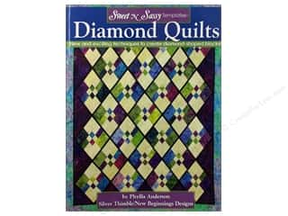 Books Clearance: Landauer Sweet N Sassy Template Diamond Quilts Book