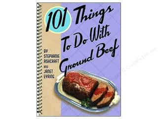 Gifts & Giftwrap: Gibbs-Smith 101 Things To Do With Ground Beef Book by Stephanie Ashcraft and Janet Eyring