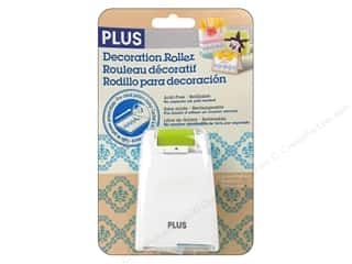 stamps: Plus Decoration Roller Blue Lace