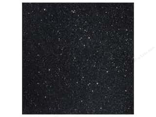 cardstock vellum: American Crafts 12 x 12 in. Cardstock Duotone Glitter Black (15 sheets)