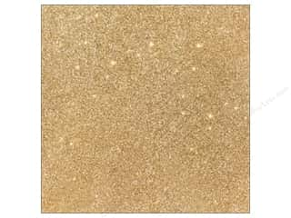 Scrapbooking & Paper Crafts: American Crafts 12 x 12 in. Cardstock Duotone Glitter Oatmeal (15 sheets)