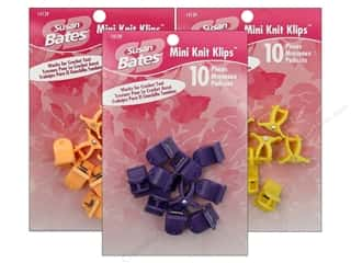 yarn: Susan Bates Knit Klips Mini 10 pc.