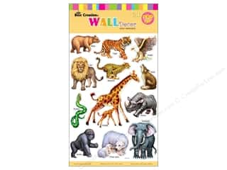Clearance Best Creation Wall Decor Stickers: Best Creation Wall Decor Stickers Pop-Up Zoo Animals