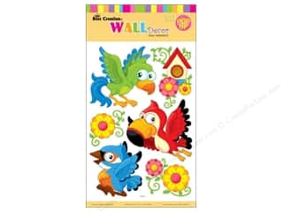 decorative bird: Best Creation Wall Decor Stickers Pop-Up Birds