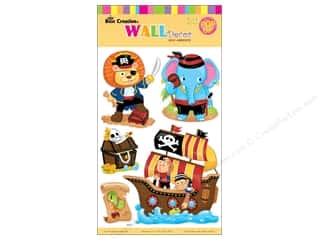 Best Creation Wall Decor Stickers Pop-Up Cartoon Animal Pirate
