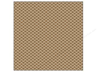 die cutting machines: We R Memory Keepers 12 x 12 in. Washi Adhesive Sheet Brown (12 sheets)