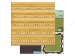 Winter Wonderland Patterns: Bo Bunny 12 x 12 in. Paper Snow Day Collection Sunshine (25 sheets)
