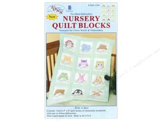 yarn & needlework: Jack Dempsey 9 in. Quilt Blocks 12 pc. Peek A Boo