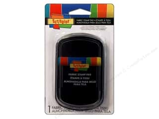 stamps: Scribbles Fabric Stamp Pad Black