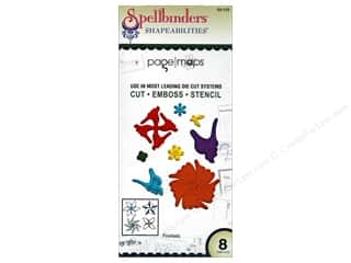 die cutting machines: Spellbinders Shapeabilities Die Pinwheels