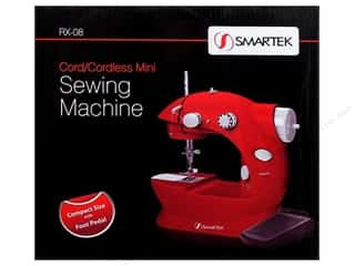 sewing machine: Smartek Sewing Machine Mini Cordless Red