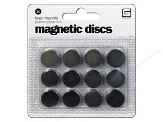 magnet: BasicGrey Magnetic Snaps 6 pc. Large