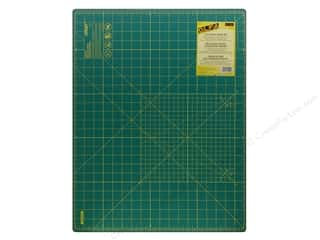 Olfa: Olfa Cutting Mat 18 x 24 in. Green with Yellow Grid
