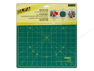 "gifts & giftwrap: Olfa Spinning Rotary Mat 12"" Square"