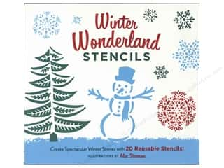 Winter Wonderland Patterns: Chronicle Winter Wonderland Stencils Book by Alice Stevenson