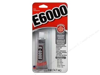 glues, adhesives & tapes: Eclectic E6000 Adhesive .5 oz. Clear