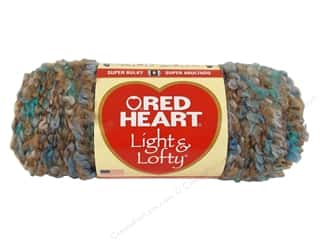 Bulky yarn: Red Heart Light & Lofty Yarn #9943 Beachy Keen 105 yd.