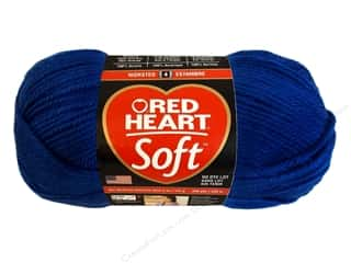 Red Heart Soft Yarn 256 yd. #9851 Royal Blue