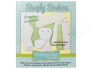 Babyville by Prym/Dritz: Dritz Babyville Boutique Simply Soakers Pattern