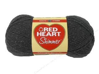 shimmer yarn: Red Heart Shimmer Yarn #1403 Pewter 280 yd.