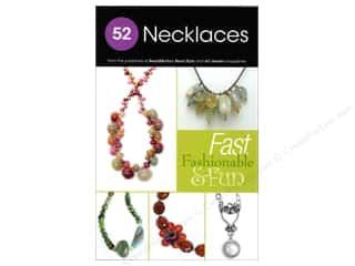 beading & jewelry making supplies: Kalmbach 52 Necklaces Book