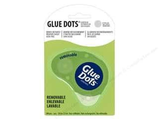 Glue Dots: Glue Dots Dispenser Removable 3/8 in. 200 pc.