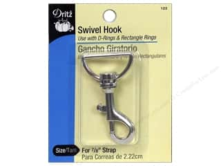 Dritz Swivel Hook - Nickel