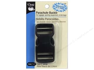 Dritz Parachute Buckle for 1 in. Strap Black