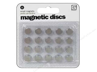 Magnets: BasicGrey Magnetic Snaps 20 pc. Small