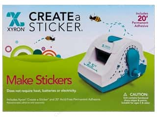 stickers: Xyron 2 1/2 in. Create-A-Sticker Machine