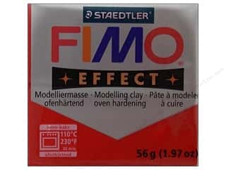 Fimo Soft Clay 2 oz. Glitter Red