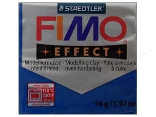 stamps: Fimo Soft Clay 2 oz. Glitter Blue