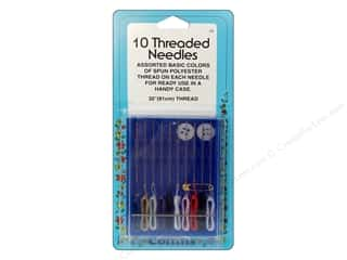Collins Needle Threader: 10 Needles Threaded by Collins 13 pc.