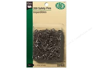 Safety Pins by Dritz 1 1/16 in. Nickel 200pc.