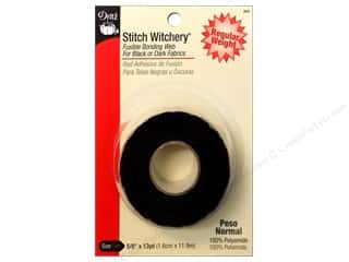 Dritz Stitch Witchery Fusible Bonding Web Regular 5/8 in. x 13 yd. Black