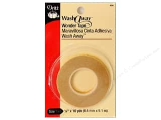 glues, adhesives & tapes: Dritz Wash Away Wonder Tape - 1/4 in. x 10 yd.