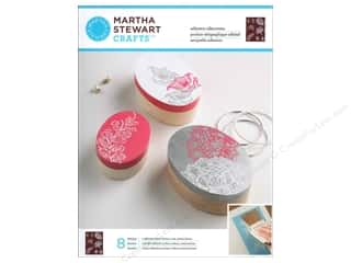 Martha Stewart Stencils by Plaid Adhesive Silkscreen Wildflowers